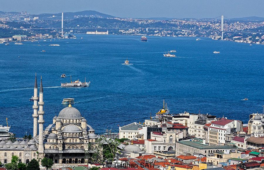 Фотограф в Стамбуле