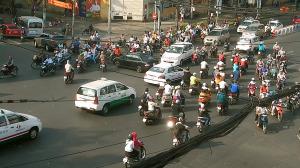 Дорожное движение в Хошимине