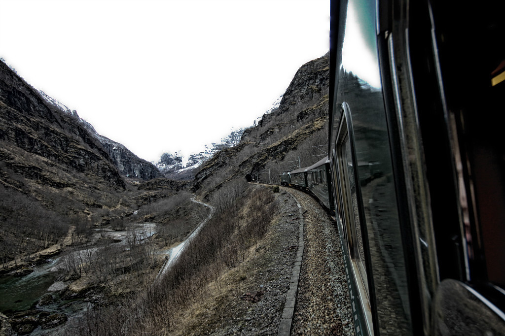 train in Norway