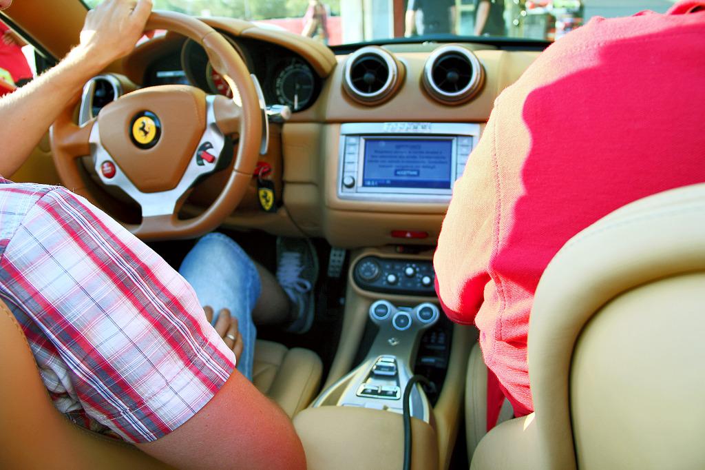 В автомобиле Феррари, Маранелло