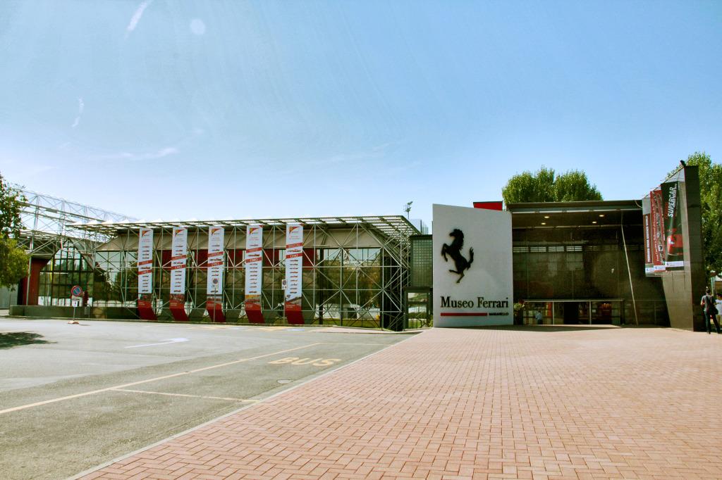 Завод Феррари в Маранелло