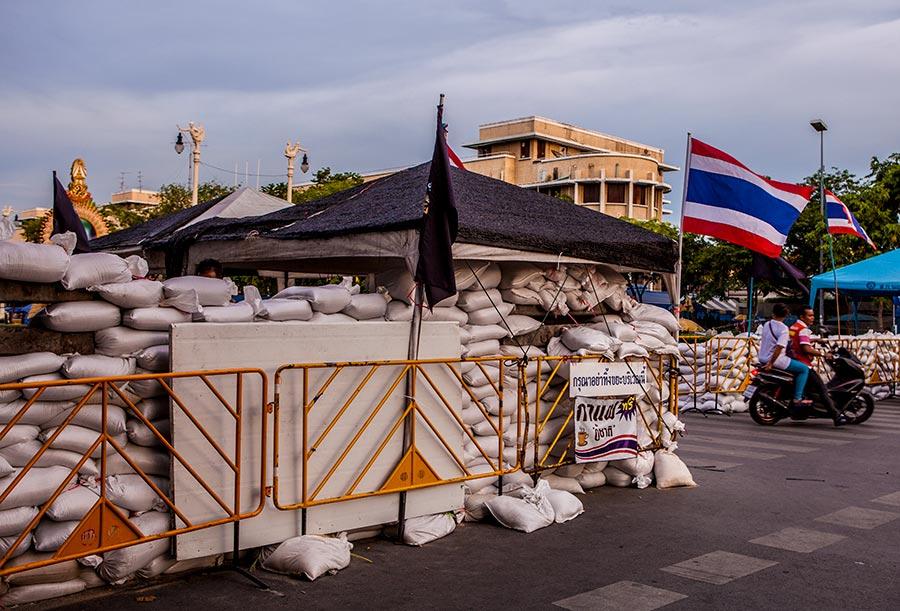 Баррикады в Бангкоке
