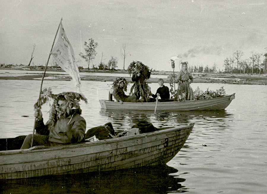 Праздник Нептуна на Байкале