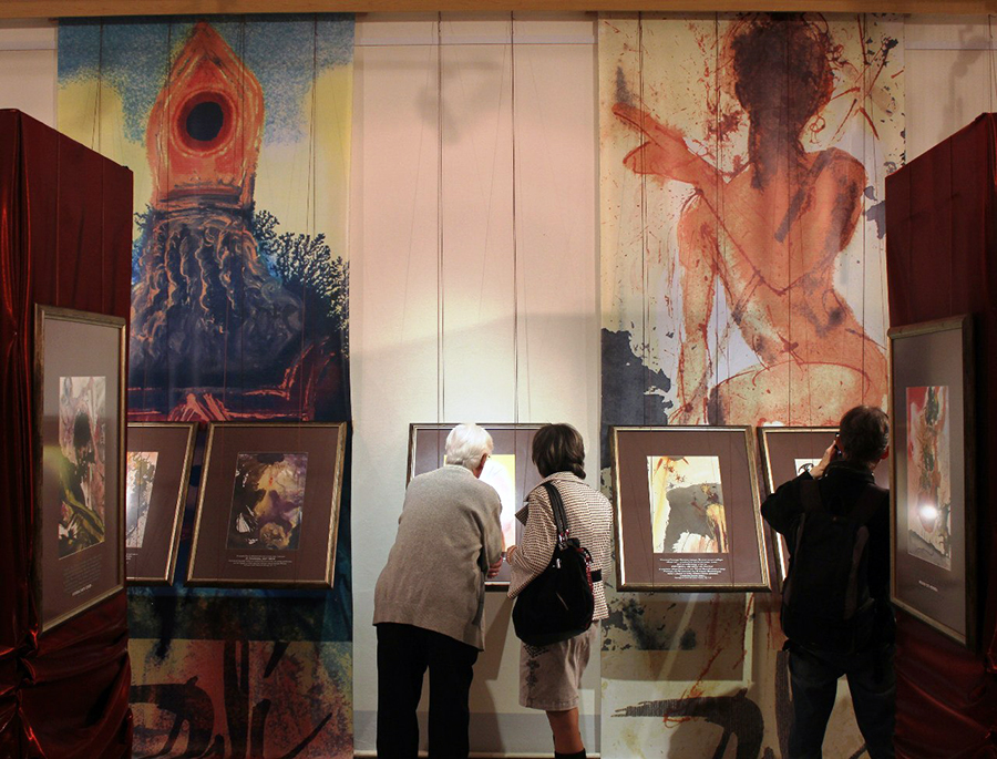 Выставка картин Сальвадора Дали в Костроме