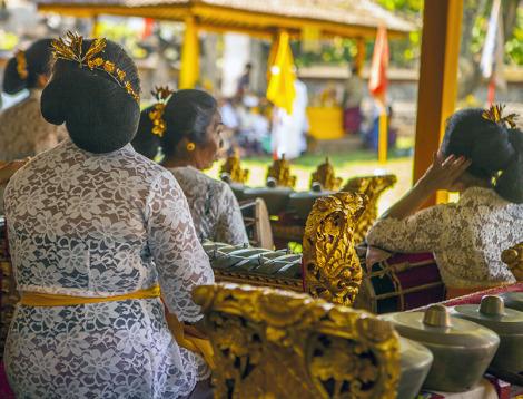 Музыка на Бали