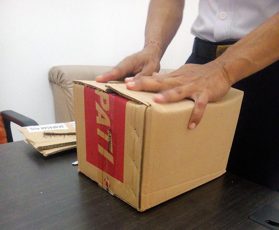 как отправить посылку с Бали в Россию