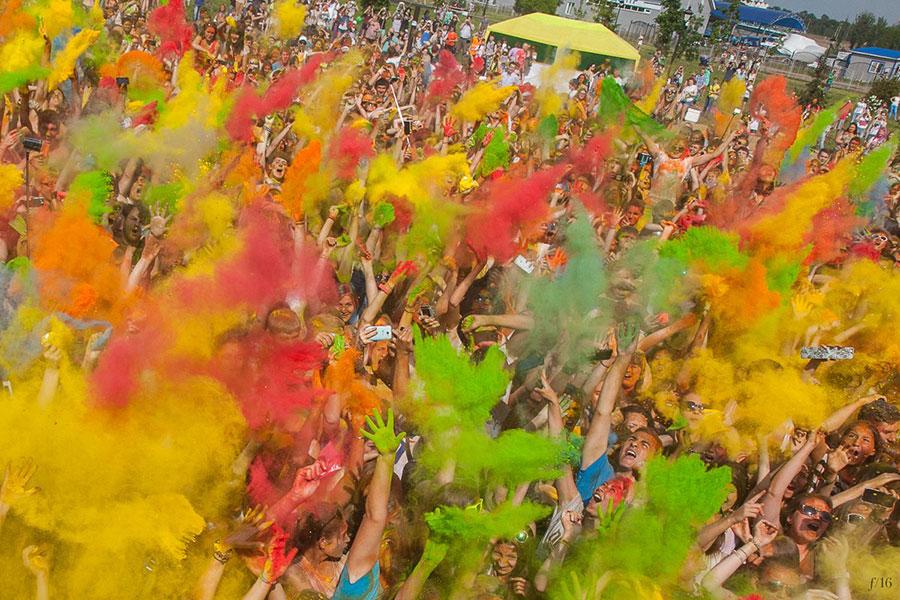 фестиваль красок холи в ярославле