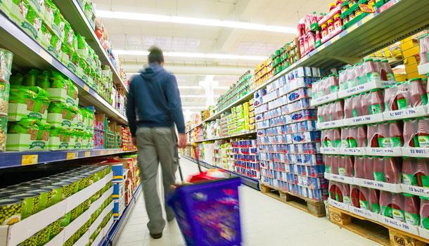 Еда в супермаркетах Италии
