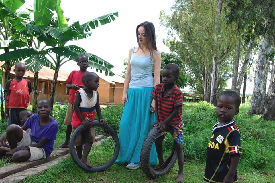 миссия помощи детям в Африке