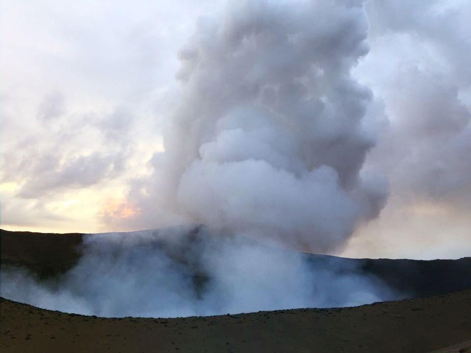 вулкан Ясер