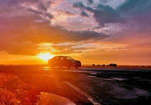 дорожный закат